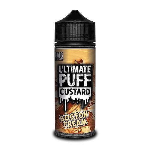Boston Cream Custard by Ultimate Puff E Liquid 120ml Shortfill