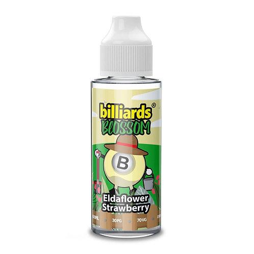 Eldaflower Strawberry Blossom by Billiards E Liquid 120ml Shortfill