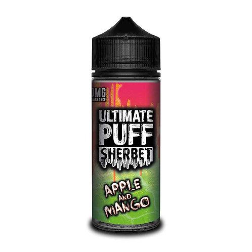Apple & Mango Sherbet by Ultimate Puff E Liquid 120ml Shortfill