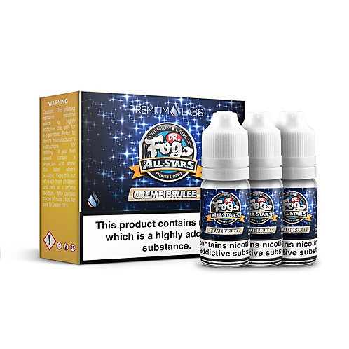 Creme Brulee by Dr. Fog All Stars E Liquid