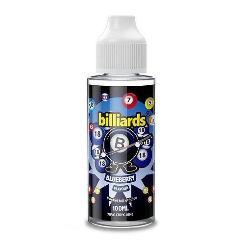 Blueberry by Billiards E Liquid 120ml Shortfill