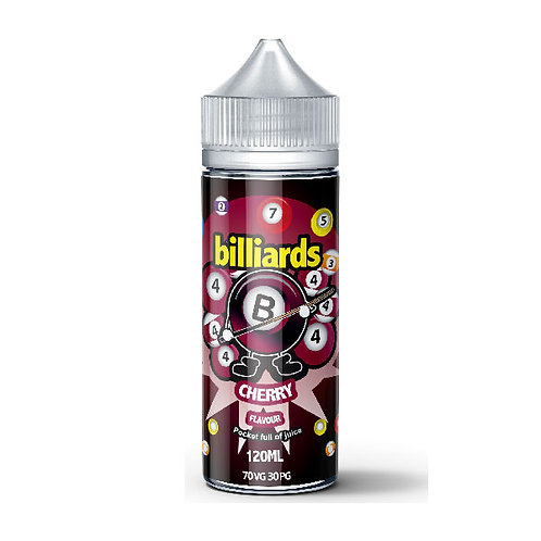 Cherry by billiards E Liquid 120ml Shortfill