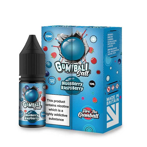 Blueberry Raspberry Nic Salt by Gumball E Liquid