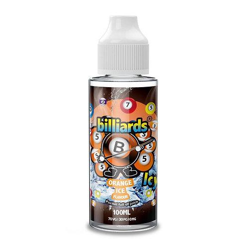 Orange Ice by Billiards E Liquid 120ml Shortfill