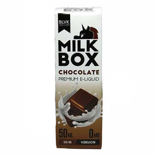 Milk Box Chocolate (Milk) by BLVK Unicorn E Liquid 60ml Shortfill