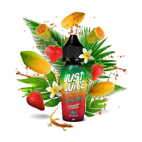 Strawberry & Curuba by Just Juice E Liquid 60ml Shortfill