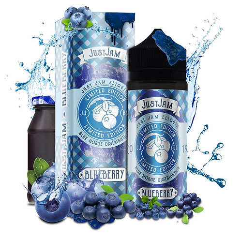 Just Jam Blueberry by Just Jam E Liquid 120ml Shortfill