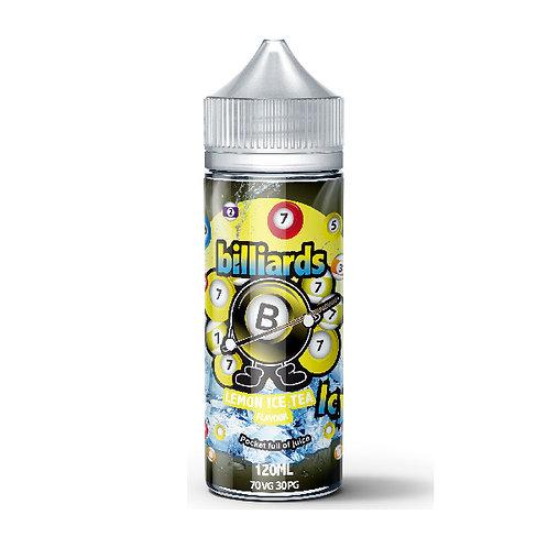 Lemon Ice Tea by billiards E Liquid 120ml Shortfill