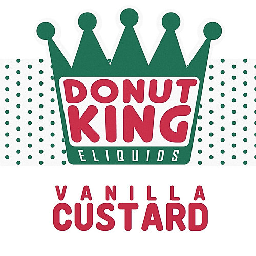 Vanilla Custard by Donut King E Liquid 100ml Shortfill