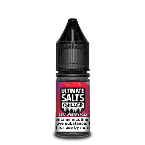 Chilled Strawberry Pom Nic Salt by Ultimate Puff E Liquid