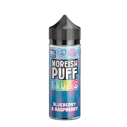 Blueberry & Raspberry Fruits by Moreish Puff E Liquid 120ml Shortfill