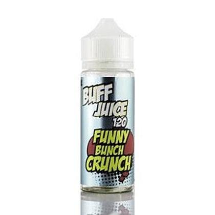 Funny Bunch Crunch By Buff Juice E Liquid 120ml Shortfill