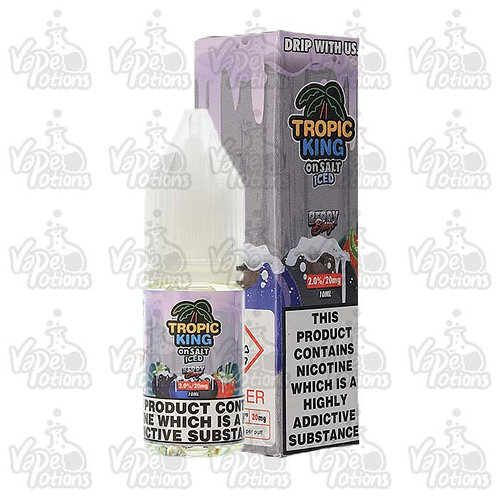 Tropic King Berry Breeze Iced Nic Salt by Candy King E Liquid