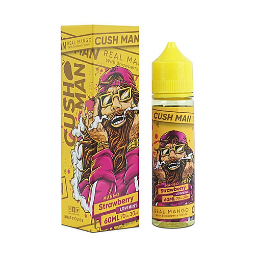 Mango Strawberry Cush Man Series by Nasty Juice E Liquid 60ml Shortfill