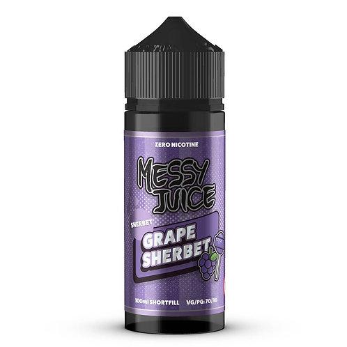 Grape Sherbet by Messy Juice E Liquid 120ml Shortfill
