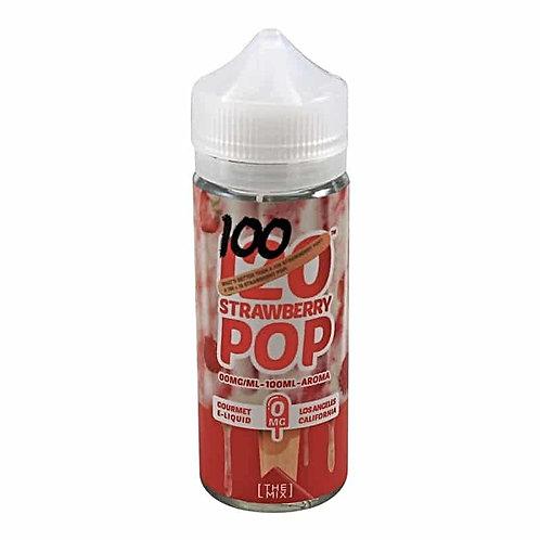 120 Strawberry Pop by Mad Hatter Juice E Liquid 120ml Shortfill