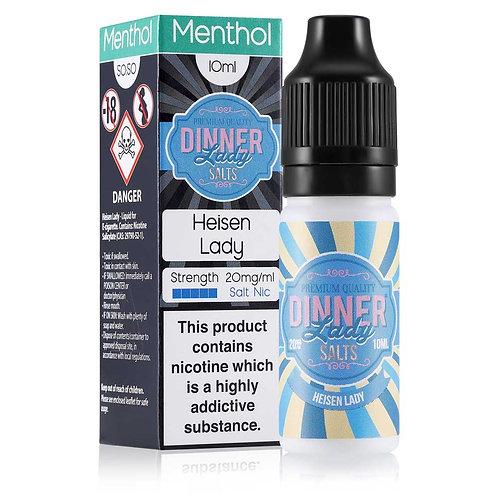 Heisen Lady Menthol Nic Salt by Dinner Lady E Liquid