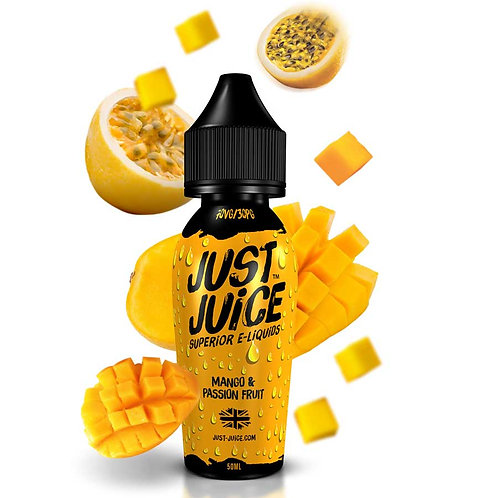 Mango & Passion Fruit by Just Juice E Liquid 60ml Shortfill