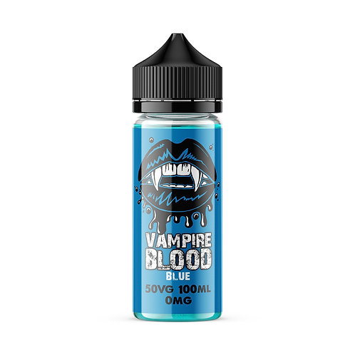 Blue by Vampire Blood E Liquid 120ml Shortfill