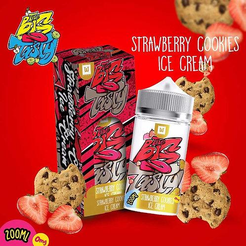 Strawberry Cookies Ice Cream by The Big N Tasty E Liquid 180ml Shortfill