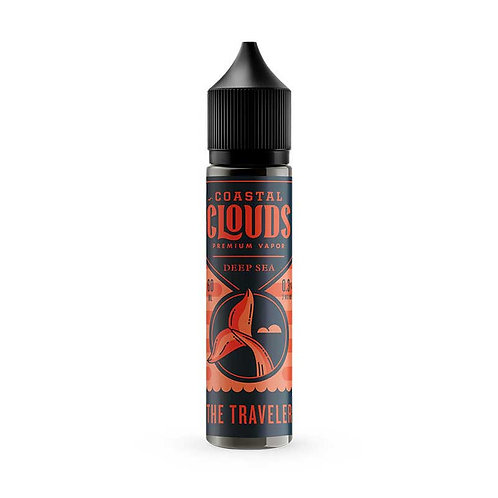 The Traveler By Coastal Clouds Co E Liquid 60ml Shortfill