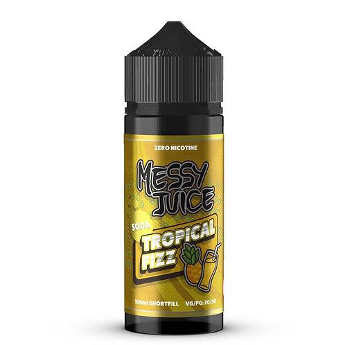 Tropical Fizz Soda by Messy Juice E Liquid 120ml Shortfill