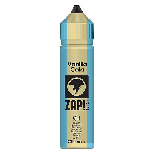 Vanilla Cola by Zap Juice E Liquid 60ml Shortfill