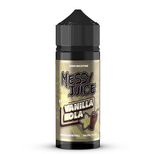 Vanilla Kola Soda by Messy Juice E Liquid 120ml Shortfill