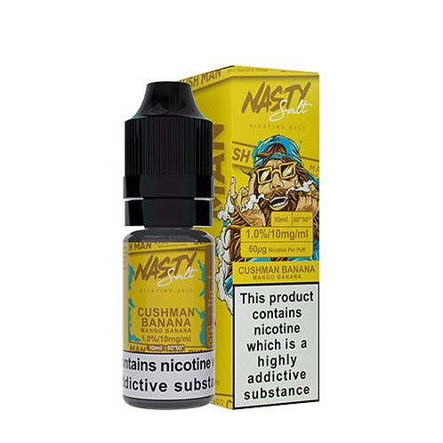 Mango Banana Cush Man Series Nic Salt by Nasty Juice E Liquid