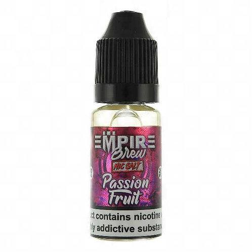 Passionfruit Nic Salt by Empire Brew E Liquid