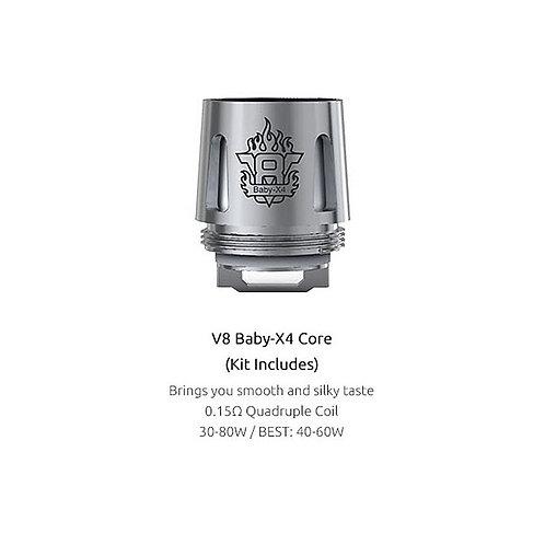 Smok V8 baby - X4 0.15 ohm Coil 5 pack