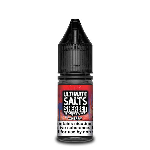 Cherry Sherbet Nic Salt by Ultimate Puff E Liquid