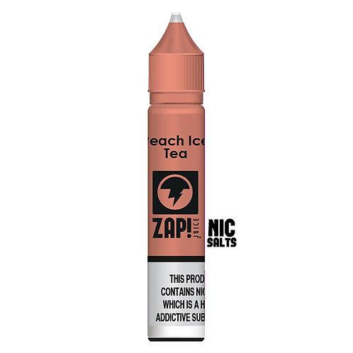Peach Ice Tea Nic Salt by Zap Juice E Liquid
