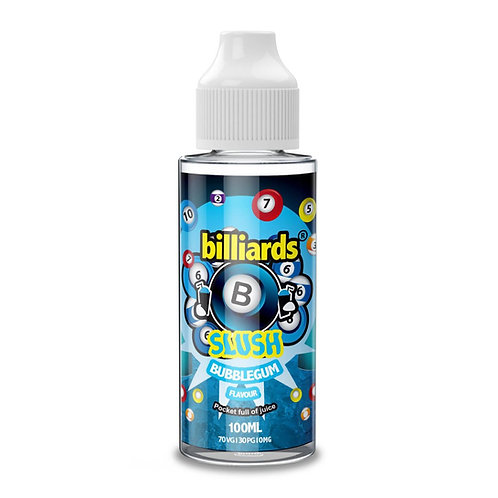 Bubblegum Slush by billiards E Liquid 120ml Shortfill