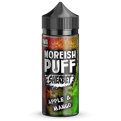 Apple & Mango Sherbet by Moreish Puff E Liquid 120ml Shortfill