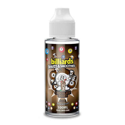 Chocolate Shake by Billiards E Liquid 120ml Shortfill