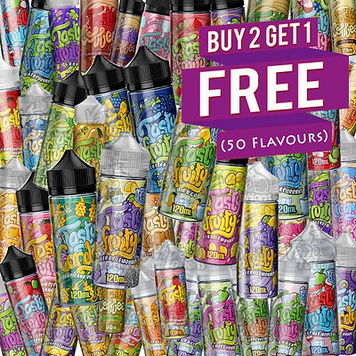 Tasty Fruity E Liquid Promotion