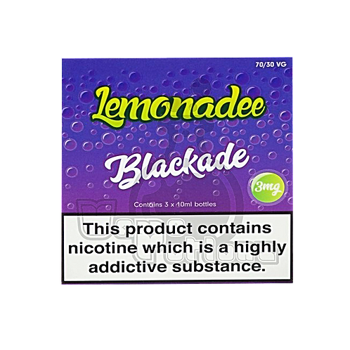 Blackade by Lemonadee E Liquid