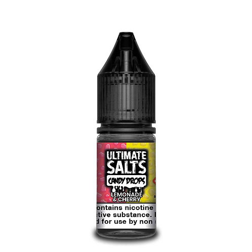Lemonade & Cherry Candy Drops Nic Salt by Ultimate Puff E Liquid