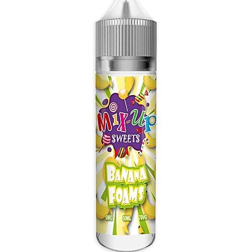 Banana Foams By Mix-up E Liquid 60ml Shortfill