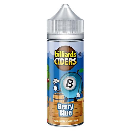 Berry Blue Ciders by Billiards E Liquid 120ml Shortfill