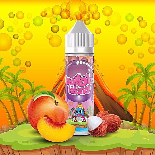 Peach n Lychee by Bubble Island E Liquid 60ml Shortfill