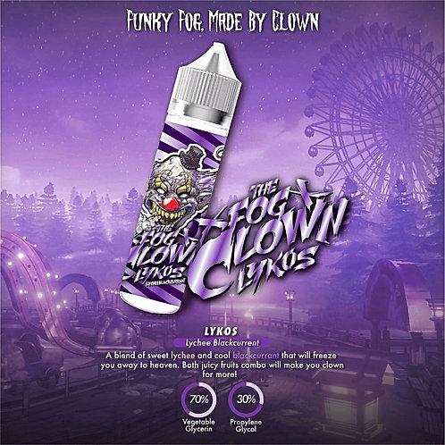 Lykos (Lychee Blackcurrant) by The Fog Clown E Liquid 60ml Shortfill