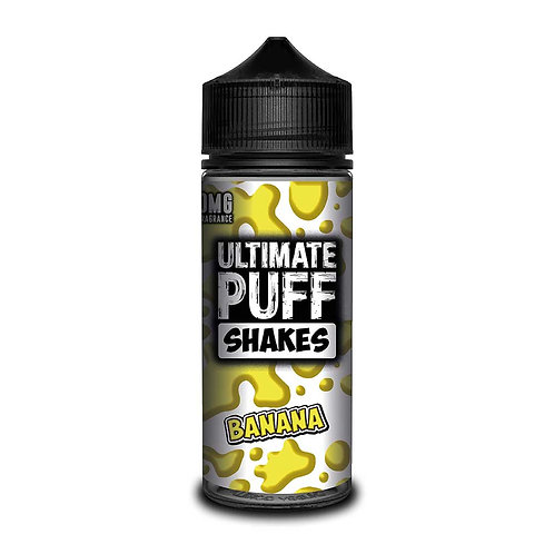 Banana Shakes by Ultimate Puff E Liquid 120ml Shortfill
