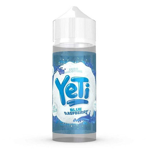 Blue Raspberry by Yeti E Liquid 120ml Shortfill