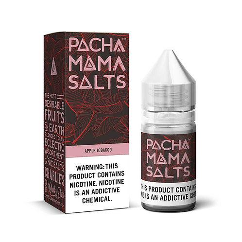 Apple Tobacco Pacha Mama Nic Salt by Charlie's Chalk Dust E Liquid