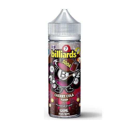 Cherry Cola Soda by billiards E Liquid 120ml Shortfill