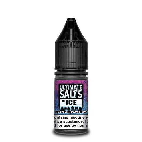 Grape & Strawberry On Ice Nic Salt by Ultimate Puff E Liquid