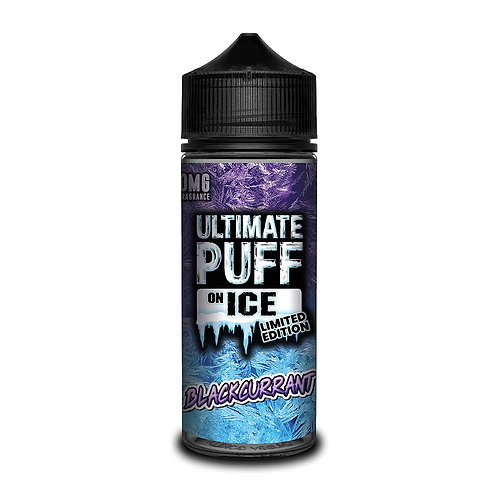 Blackcurrant On Ice Limited Edition by Ultimate Puff E Liquid 120ml Shortfill