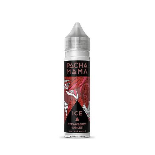 Strawberry Jubilee Ice by Pacha Mama E Liquid 60ml Shortfill